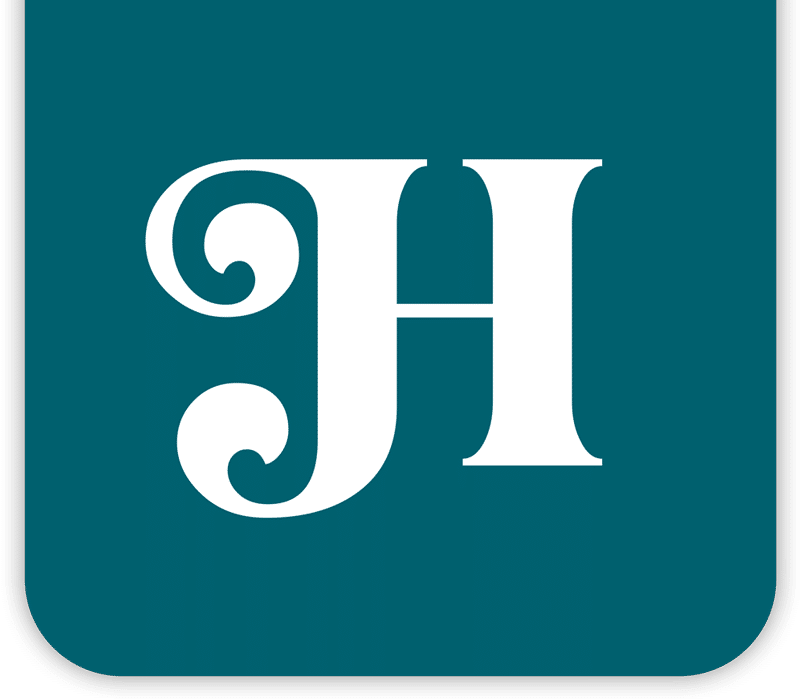 JH logo in badge