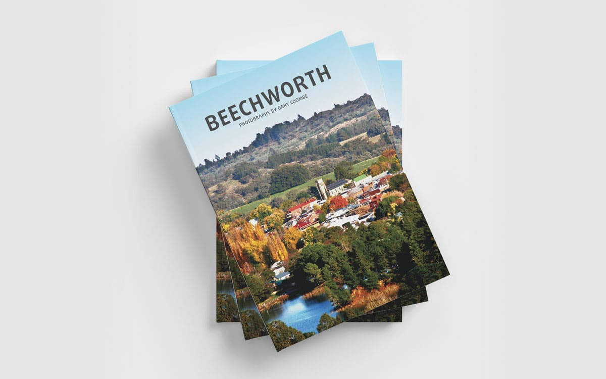 A stack of Beechworth books