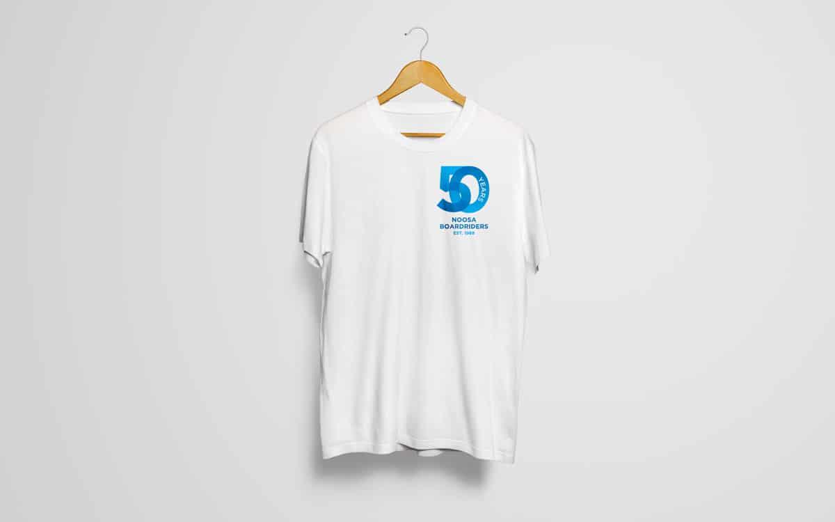 Boardriders 50th anniversary t shirt