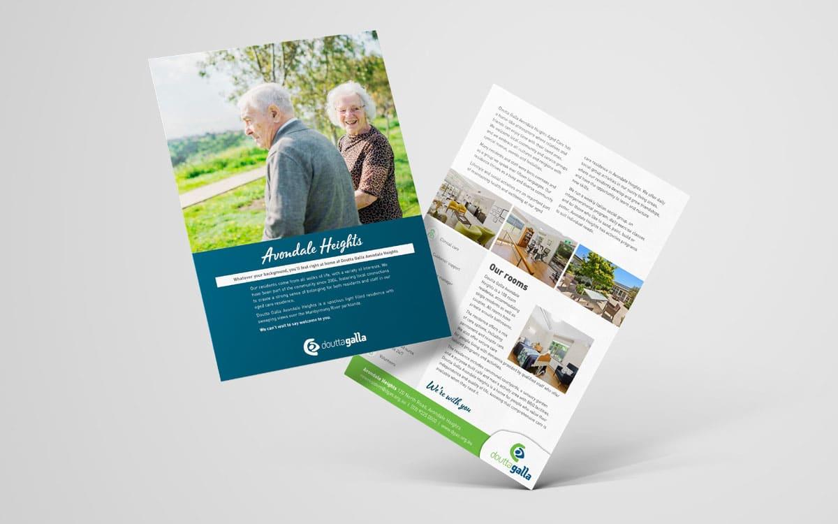 Doutta Galla Avondale Heights A4 brochure