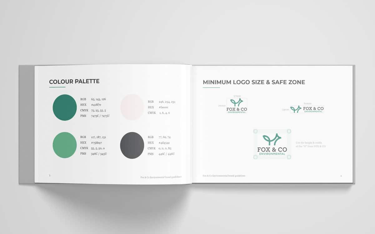 Fox & Co Environmental brand book