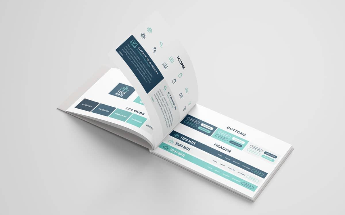 Tech Mate brand book