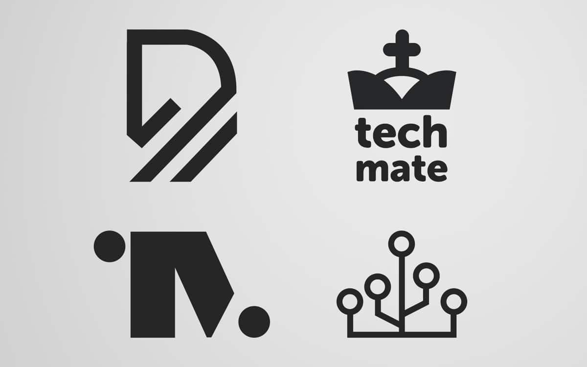 Tech Mate logo options