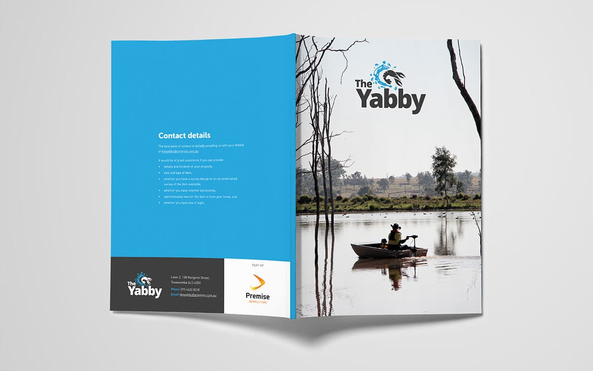 The Yabby brochure cover